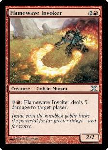 Flamewave Invoker (foil)