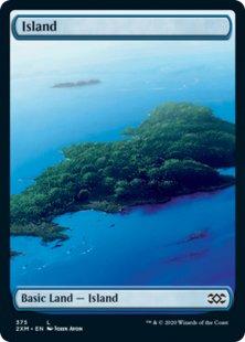 Island (1) (foil) (full art)