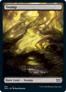 Swamp (2) (foil) (full art)
