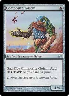 Composite Golem (foil)