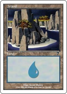 Island (1) (foil)