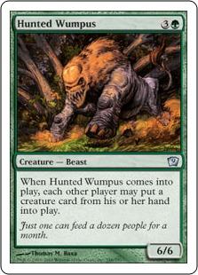 Hunted Wumpus (foil)