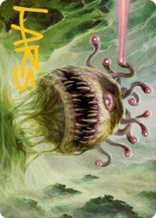 Art Card 01: Baleful Beholder (signed)