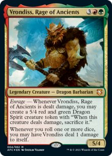 Vrondiss, Rage of Ancients (foil)
