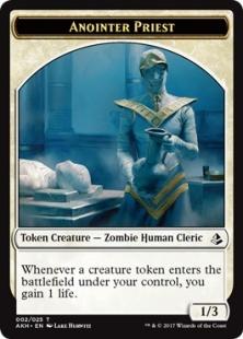 Anointer Priest embalm token (1/3)