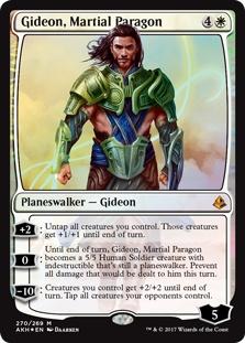 Gideon, Martial Paragon (foil)