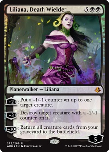 Liliana, Death Wielder (foil)