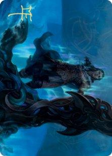 Art Card 12: Cosima, God of the Voyage (signed)