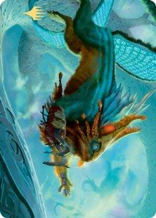 Art Card 52: Toski, Bearer of Secrets (signed)