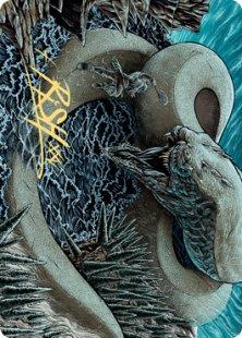 Art Card 80: Koma, Cosmos Serpent (2) (signed)