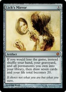Lich's Mirror (foil)