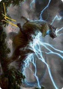 Art Card 41: Thrasta, Tempest's Roar