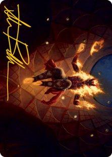 Art Card 60: Yusri, Fortune's Flame