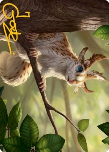 Art Card 71: Squirrel Sovereign