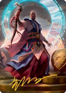 Art Card 10: Teferi, Who Slows the Sunset