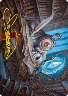 Art Card 31: Unblinking Observer