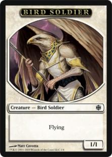 Bird Soldier token (1/1)