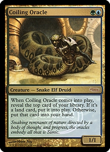 Coiling Oracle (foil)