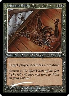 Diabolic Edict (foil)