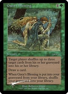 Gaea's Blessing (foil)
