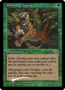Pouncing Jaguar (foil)