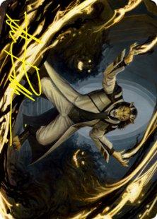Art Card 03: Leonin Lightscribe