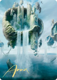Art Card 11: Island (2) (signed)