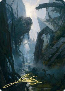 Art Card 14: Swamp (2) (signed)