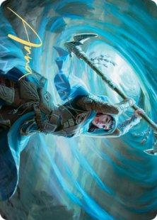 Art Card 50: Sea Gate Stormcaller (signed)