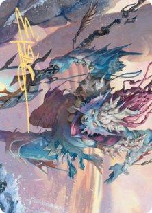 Art Card 52: Umara Wizard (signed)