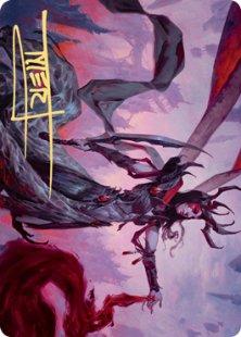 Art Card 54: Drana, the Last Bloodchief (signed)