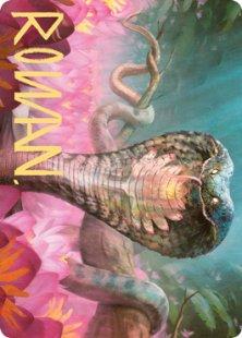 Art Card 71: Lotus Cobra (signed)