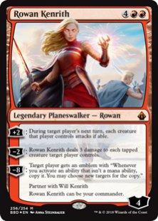 Rowan Kenrith (2) (foil)