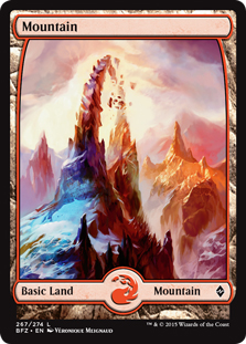 Mountain (4) (full art)