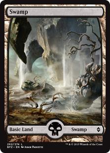 Swamp (8) (full art)