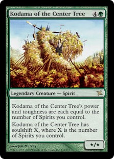Kodama of the Center Tree