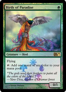 Birds of Paradise (foil)