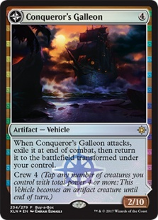 Conqueror's Galleon (foil)
