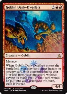 Goblin Dark-Dwellers (foil)
