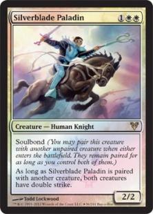 Silverblade Paladin (foil)