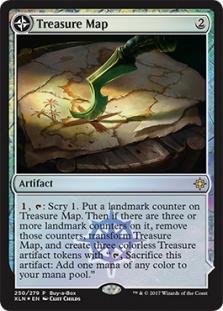 Treasure Map (foil)