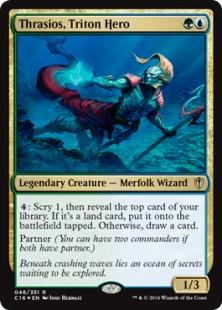 Thrasios, Triton Hero (foil)