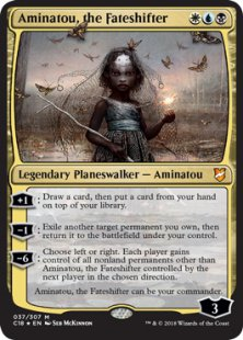 Aminatou, the Fateshifter (foil) (oversized)