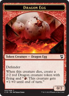 Dragon Egg token (0/2)