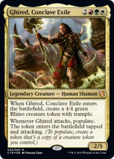 Ghired, Conclave Exile (foil)