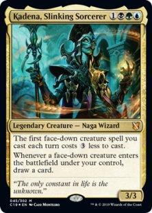 Kadena, Slinking Sorcerer (foil)