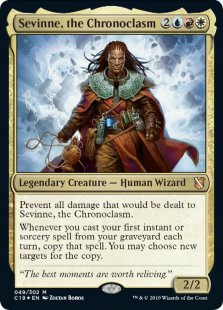 Sevinne, the Chronoclasm (foil)