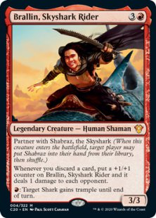 Brallin, Skyshark Rider (foil)