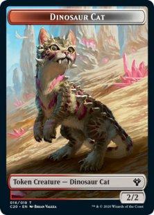 Dinosaur Cat token (2/2)