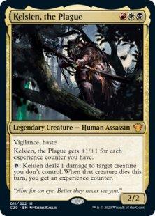 Kelsien, the Plague (foil)